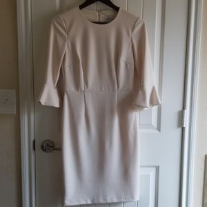 Donna Morgan ivory dress
